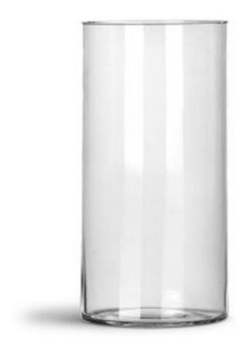 Vaso Tubo Copo De Vidro 14 X 30cm Decoração Mesa Casamentos