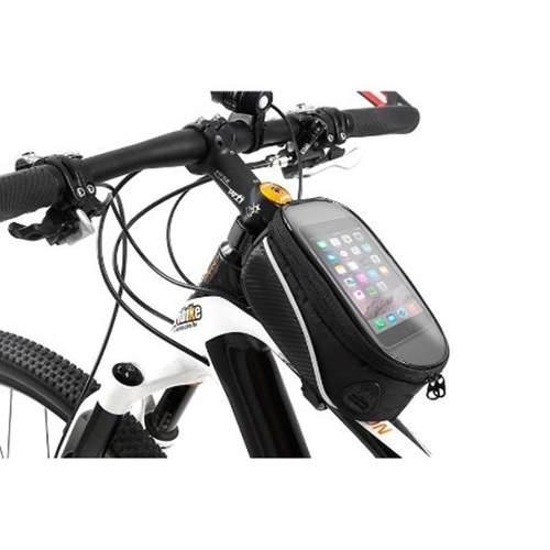 6c7a46e88e3 Bolsa Bike Bicicleta Case Suporte Quadro Porta Celular Gde - LaprixShop