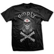 Camiseta Amply Skull