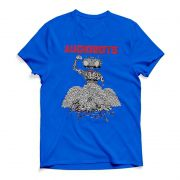 Camiseta Audiobots Azul