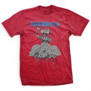 Camiseta Audiobots Vermelho