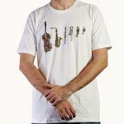 Camiseta Instruments Branco