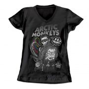 Camiseta Longet Feminina Arctic Monkeys