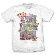 Camiseta Rockabilly Branco