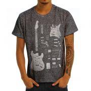 Camiseta Stratocaster Mescla