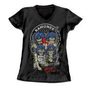 Longet Feminina Ramones