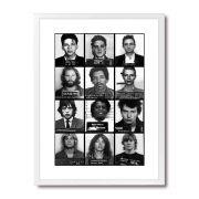 Poster/Quadro Prisons Branco