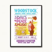 Poster/Quadro Woodstock