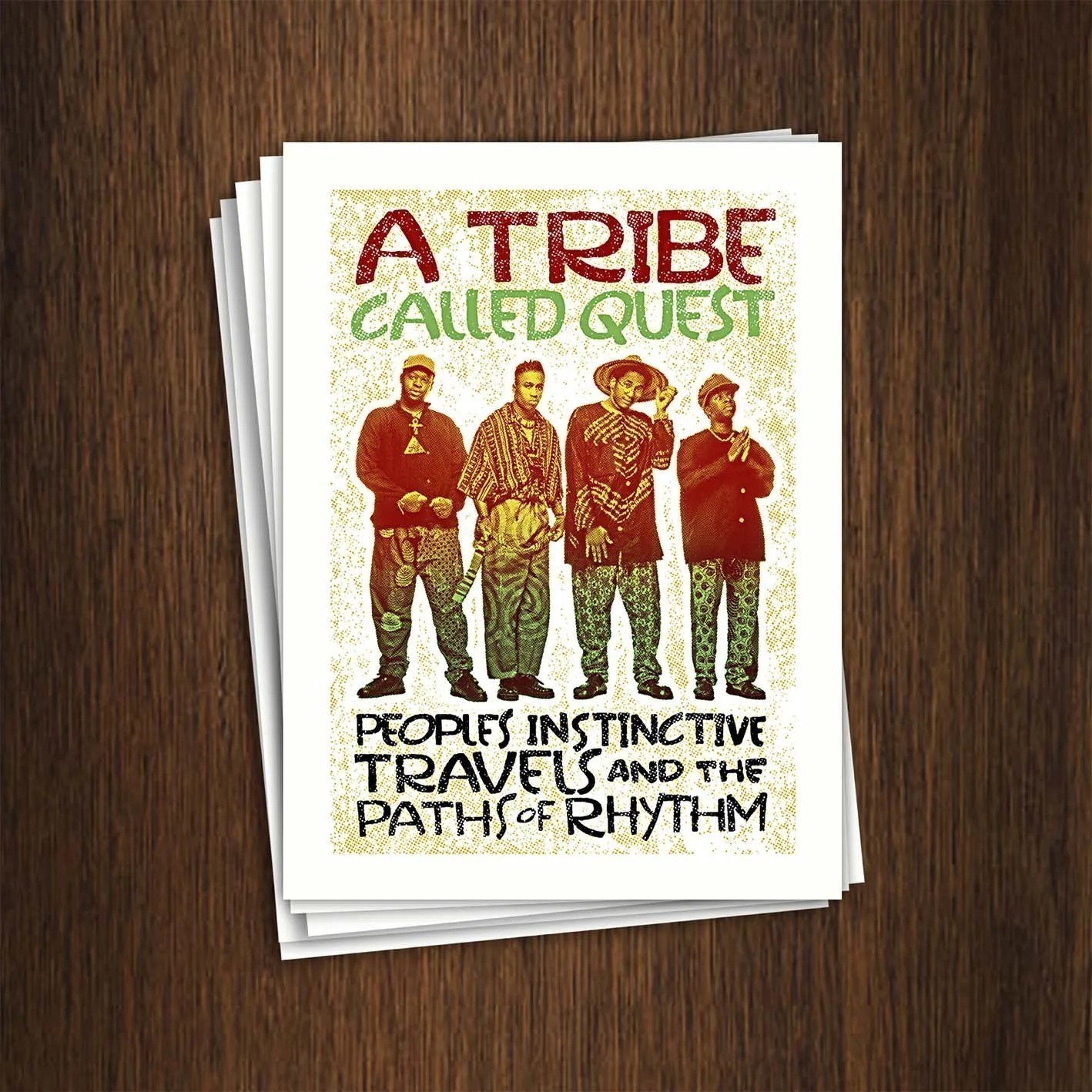 Adesivo 7x9,5cm - A Tribe Called Quest