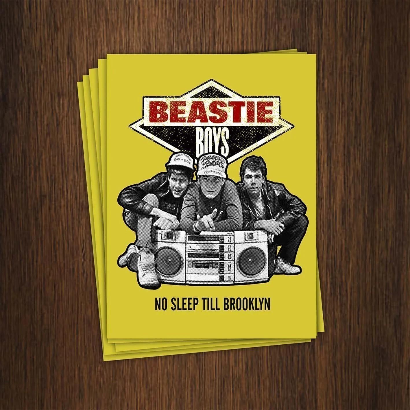 Adesivo 7x9,5cm - Beastie Boys
