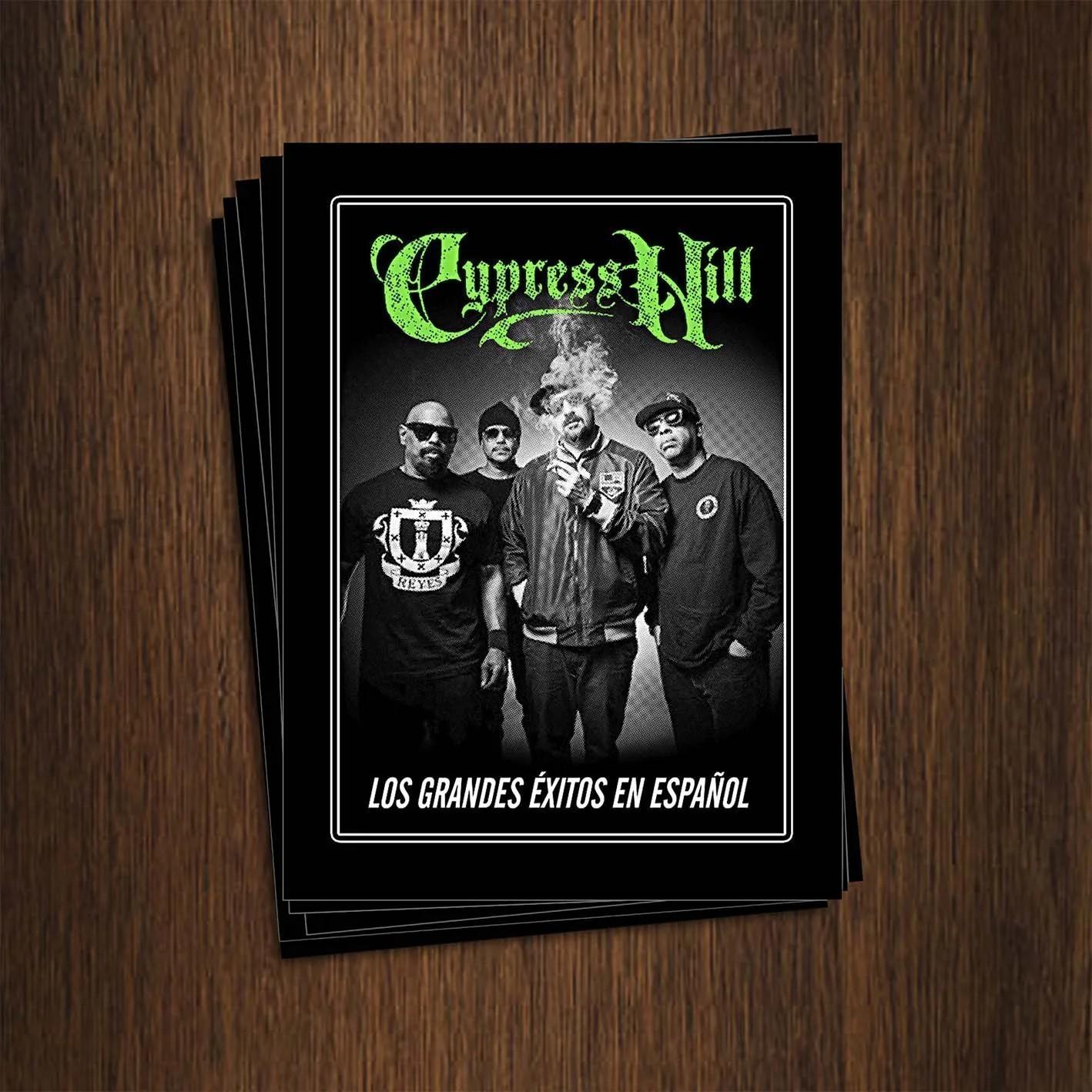 Adesivo 7x9,5cm - Cypress Hill