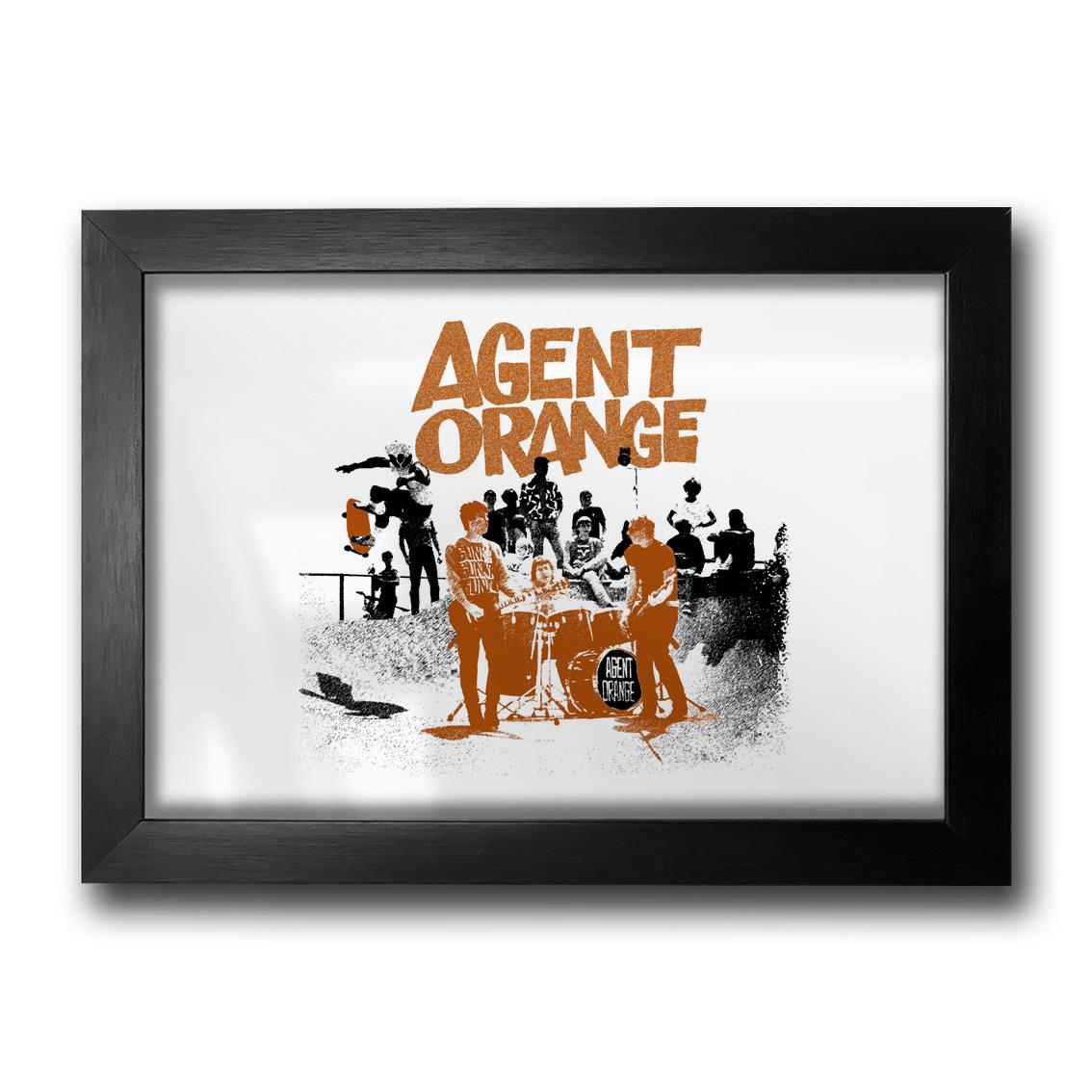 Quadro Agent Orange