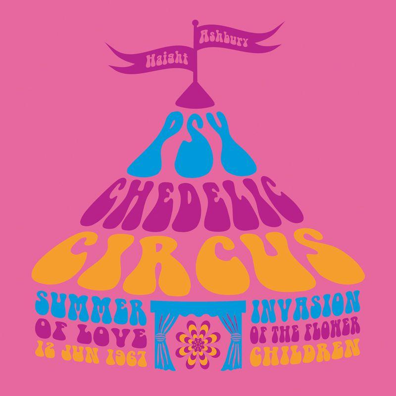 Babylook Feminina Psychedelic Circus