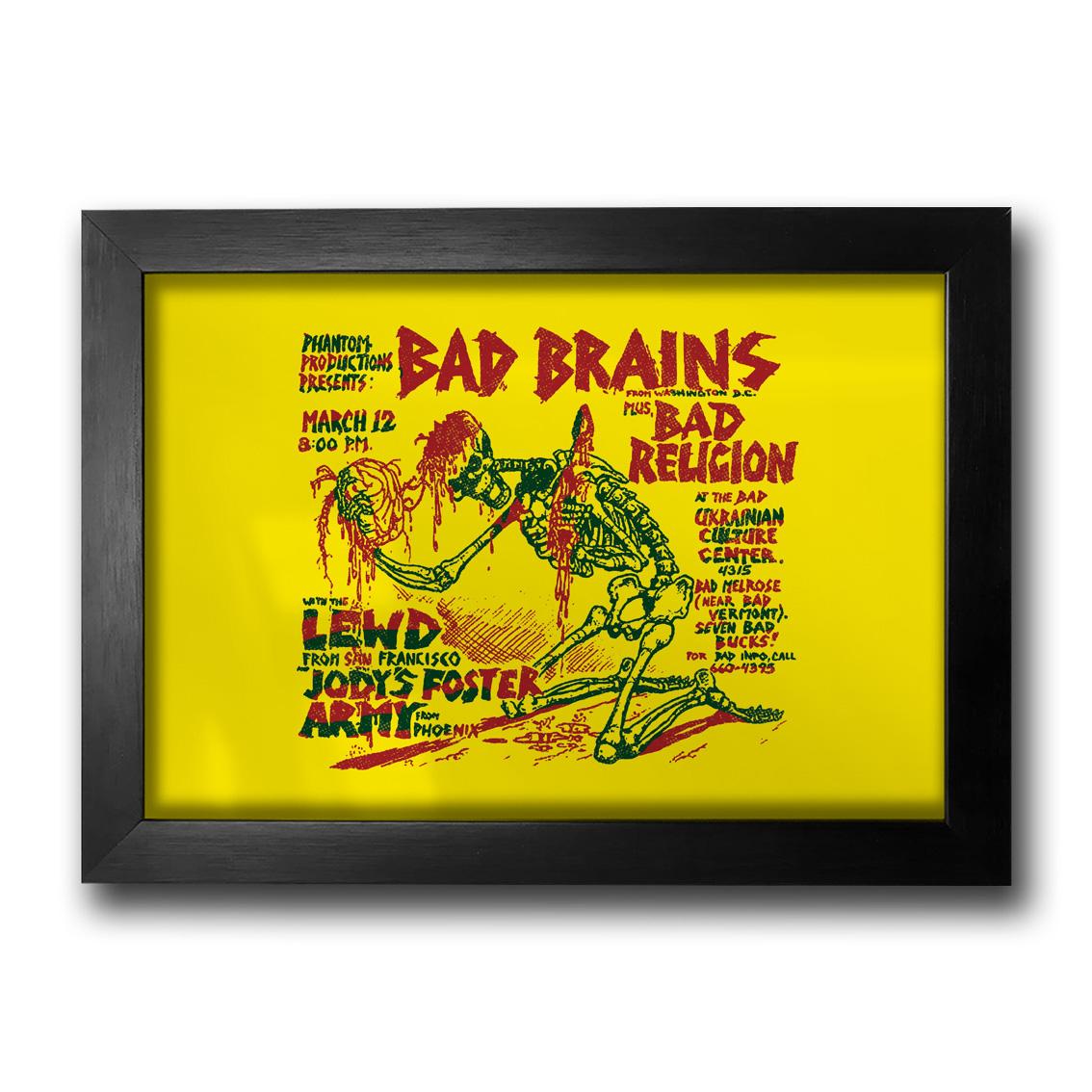 Quadro Bad Brains