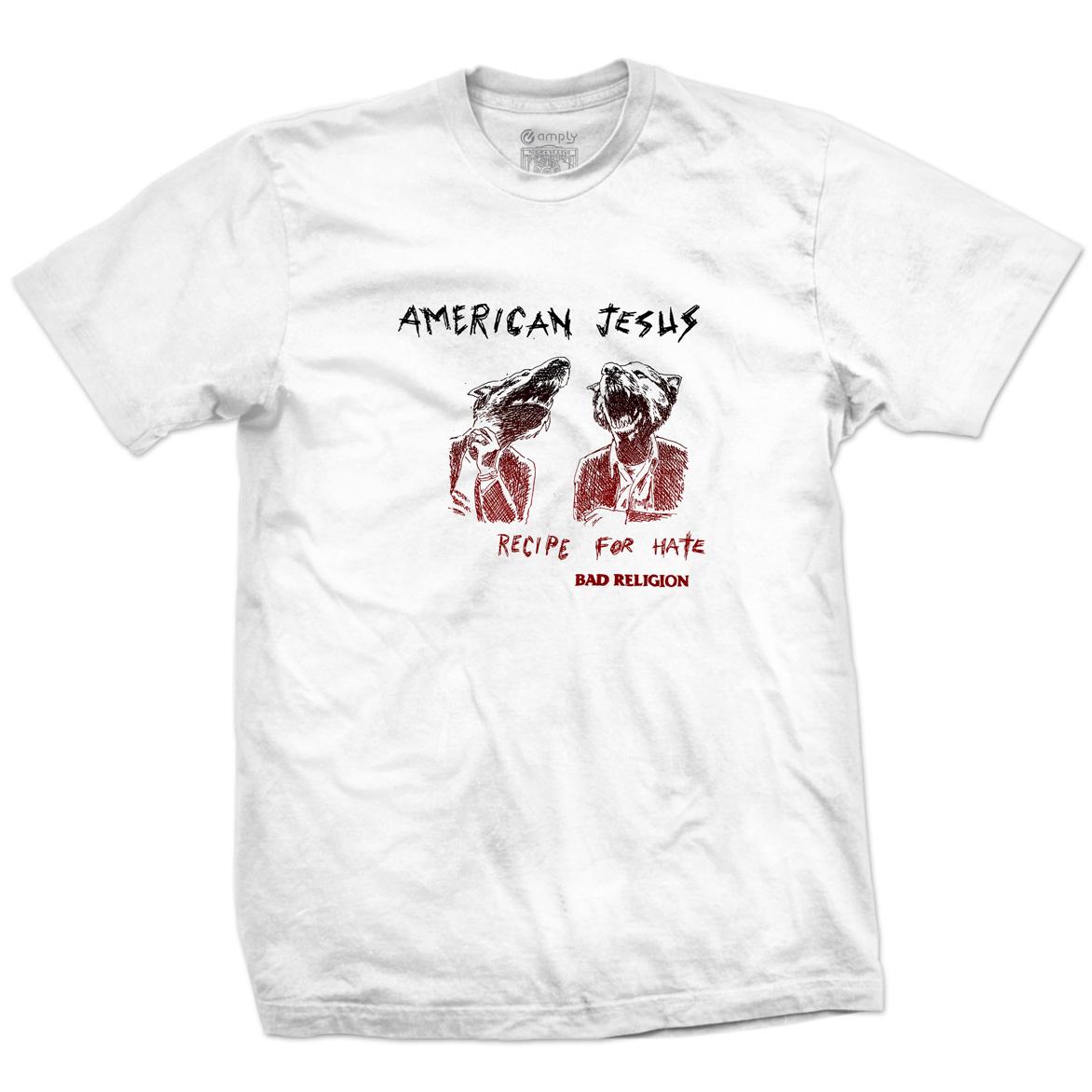Camiseta American Jesus