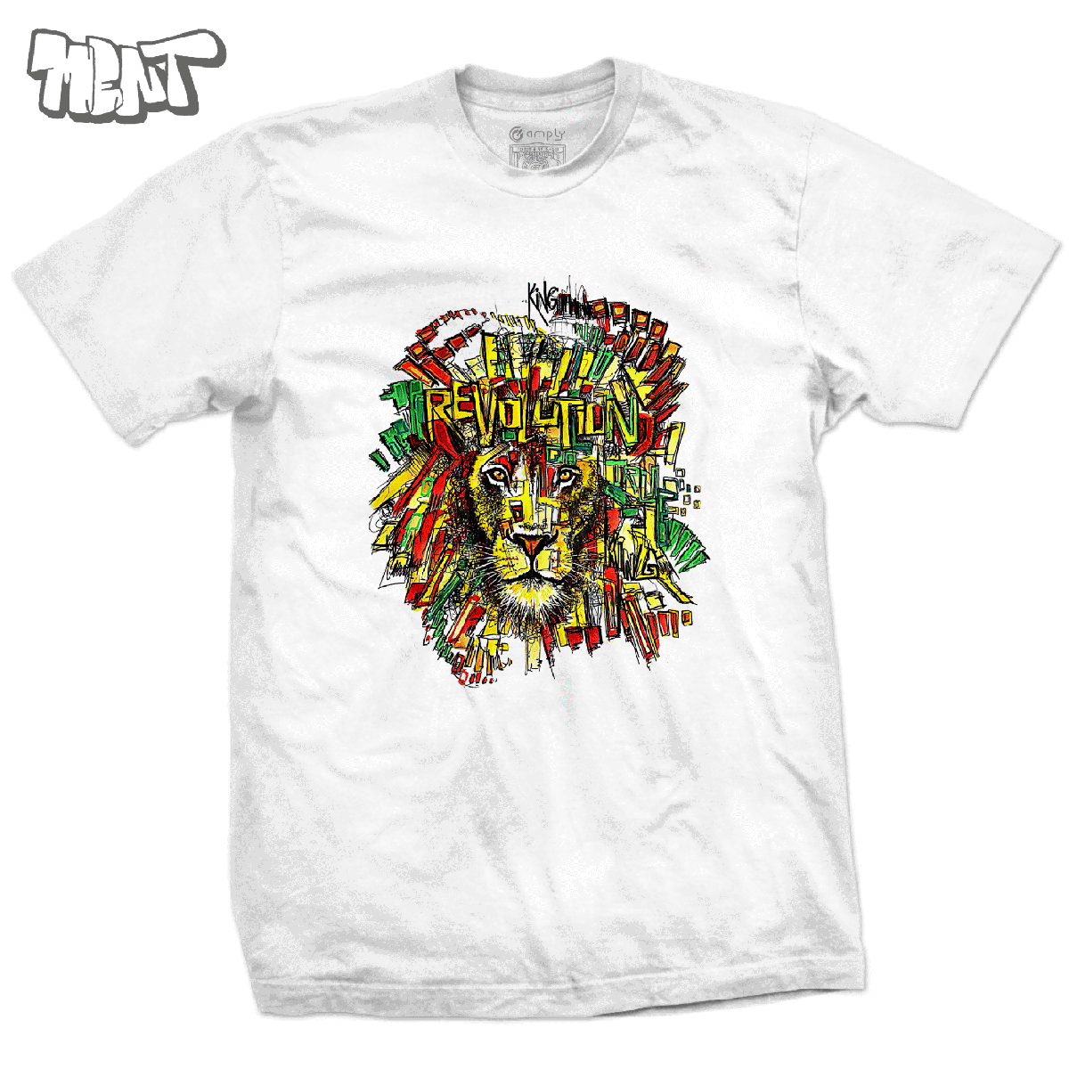 Camiseta Amply x Ment: Lion