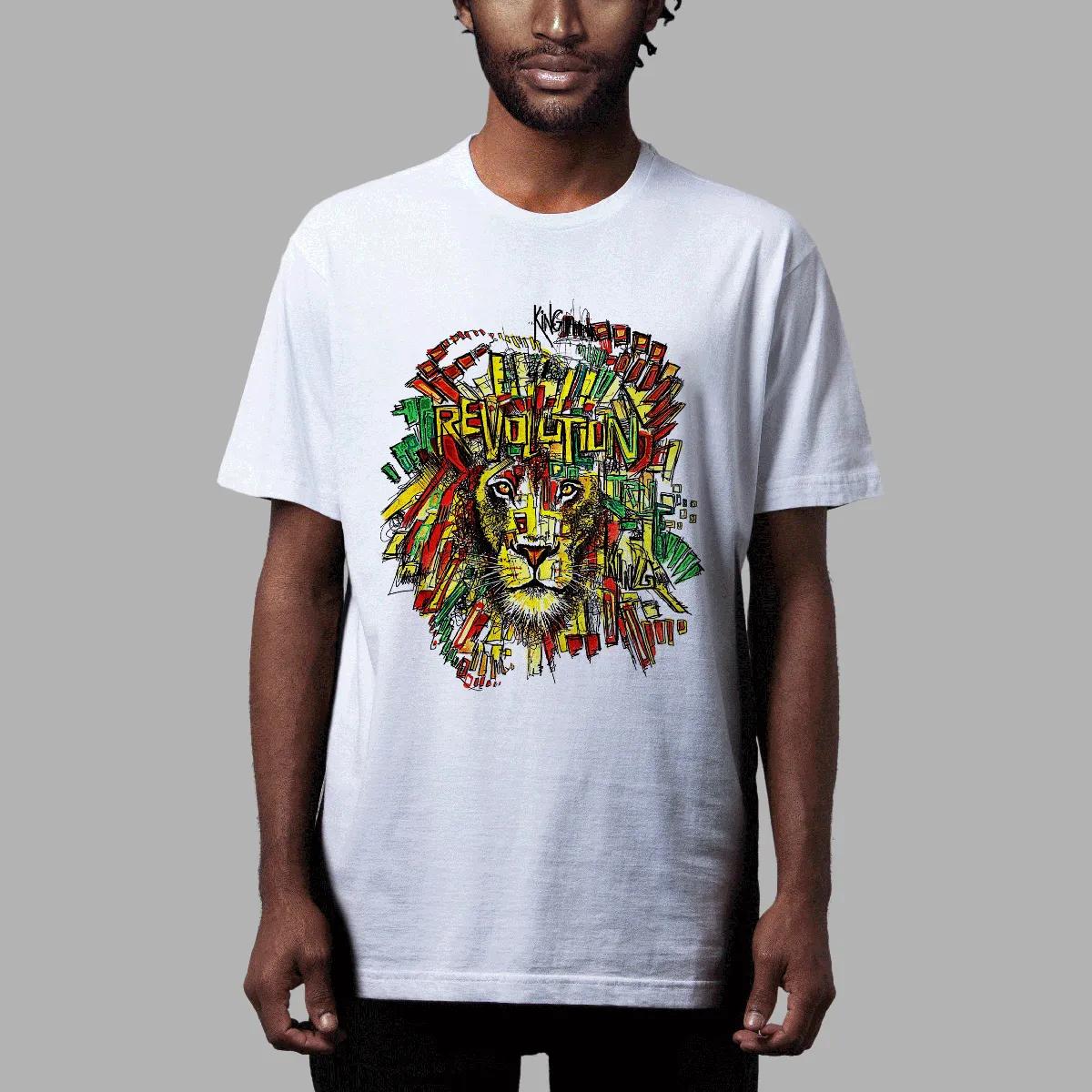 Camiseta Amply x Ment: Lion