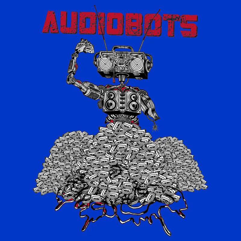 Camiseta Audiobots Azul