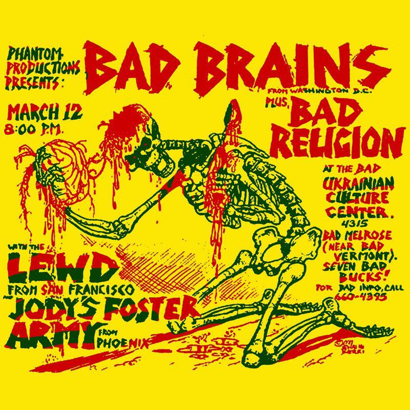 Camiseta Bad Brains