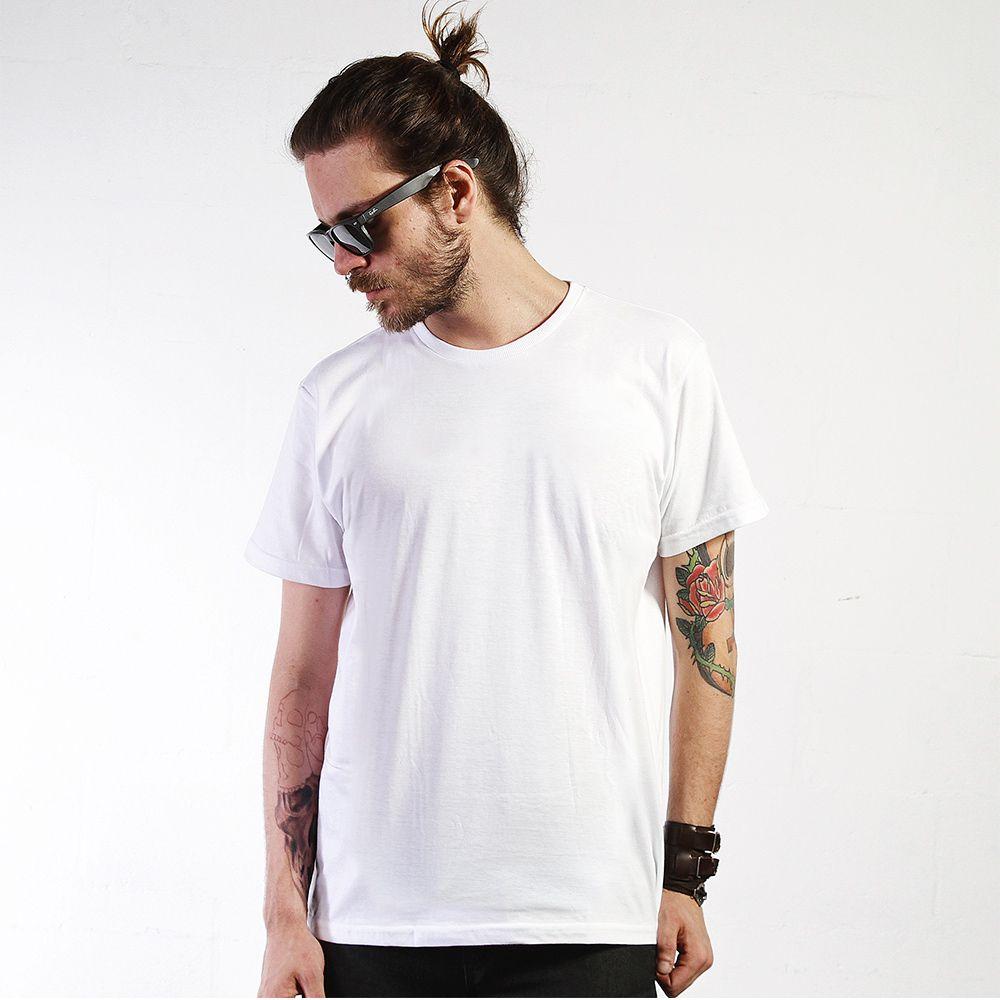 Camiseta Básica Regular Branca