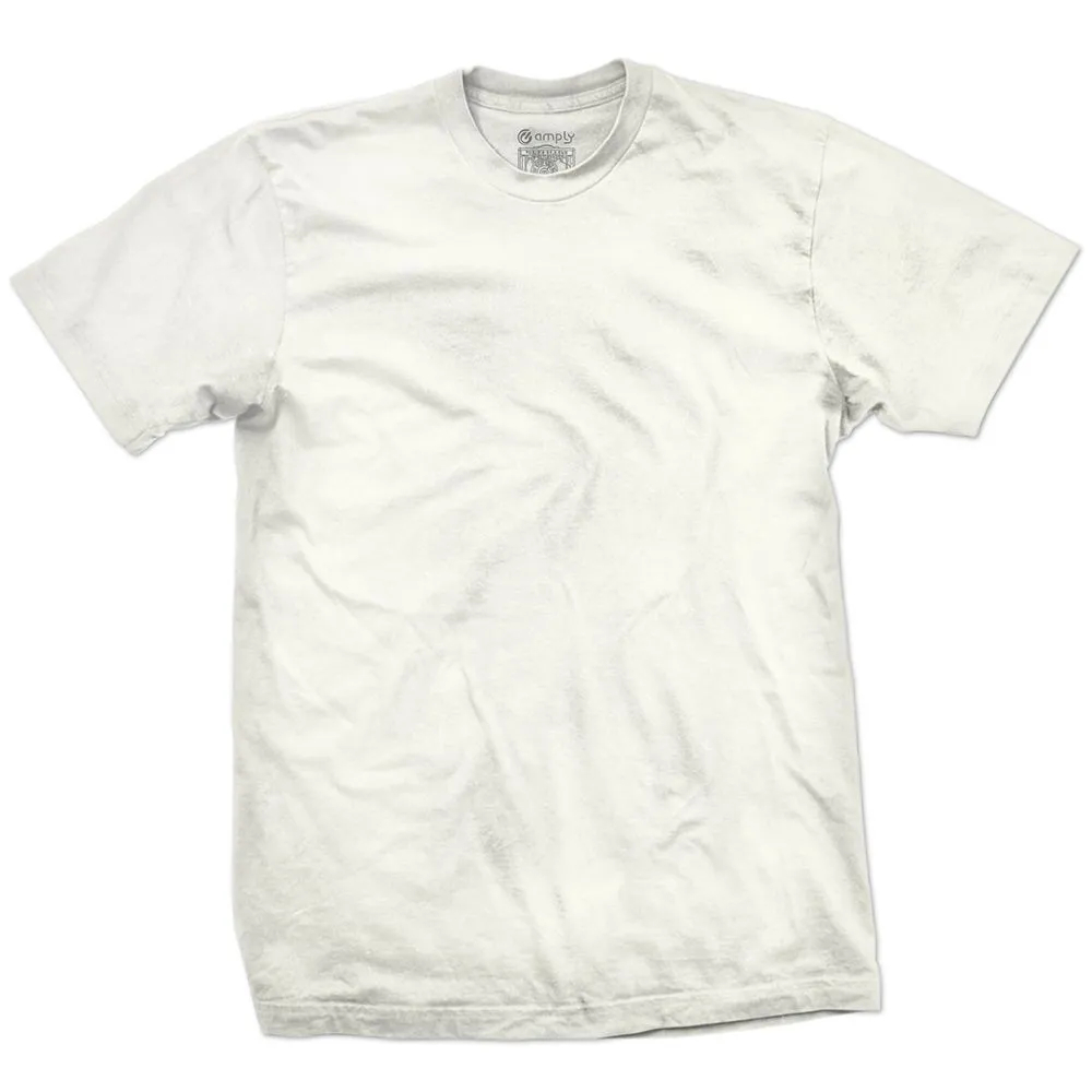 Camiseta Básica Regular Off White