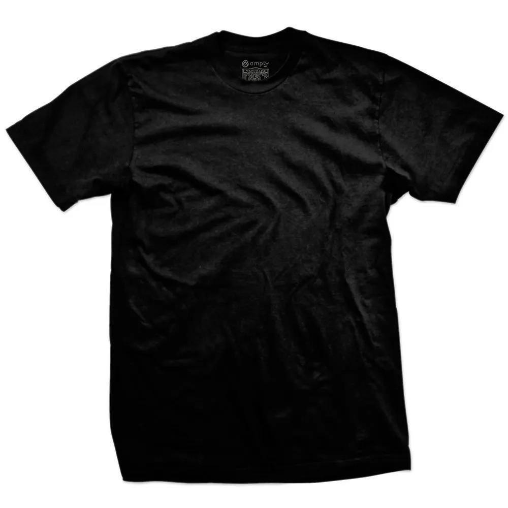 Camiseta Básica Regular Preta