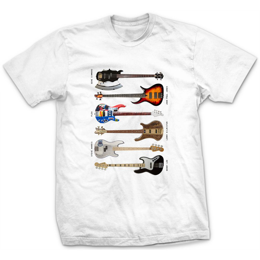 Camiseta Bass Instruments