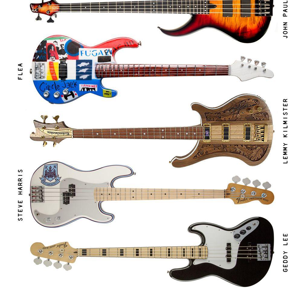 Camiseta Bass Instruments
