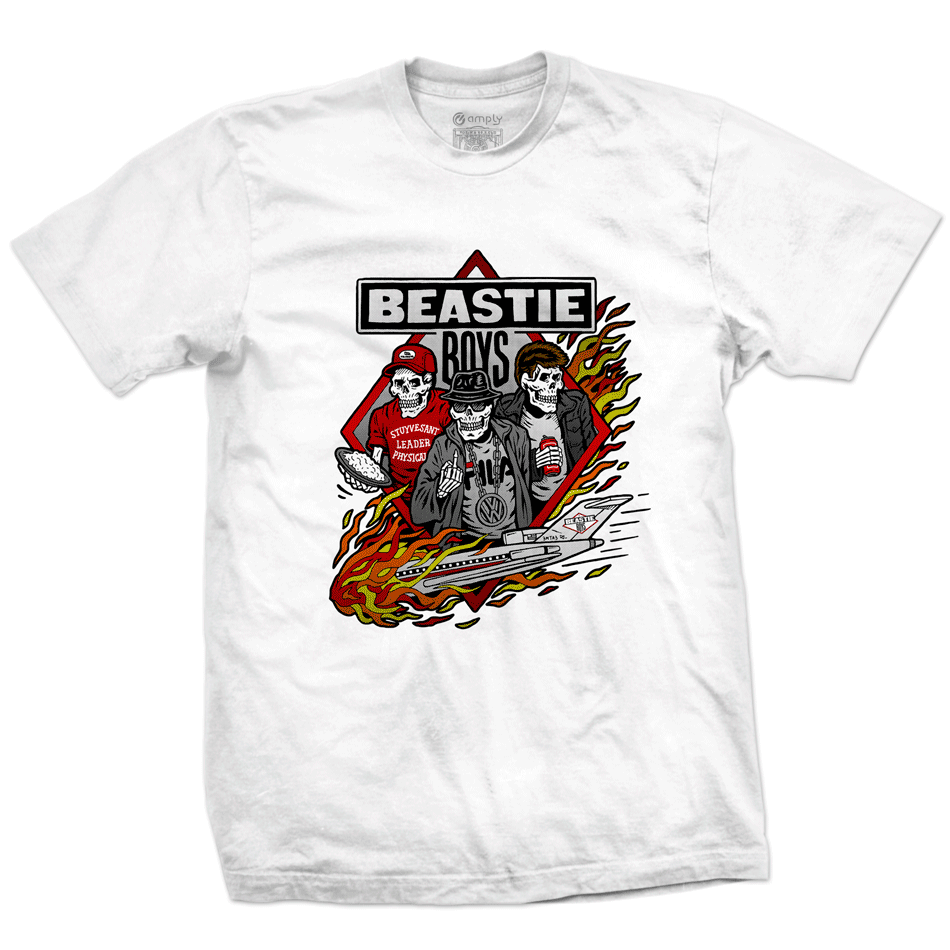 Camiseta Beastie