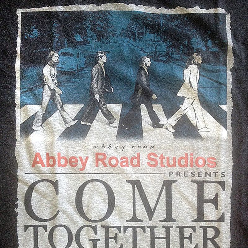 Camiseta Beatles - Abbey Road