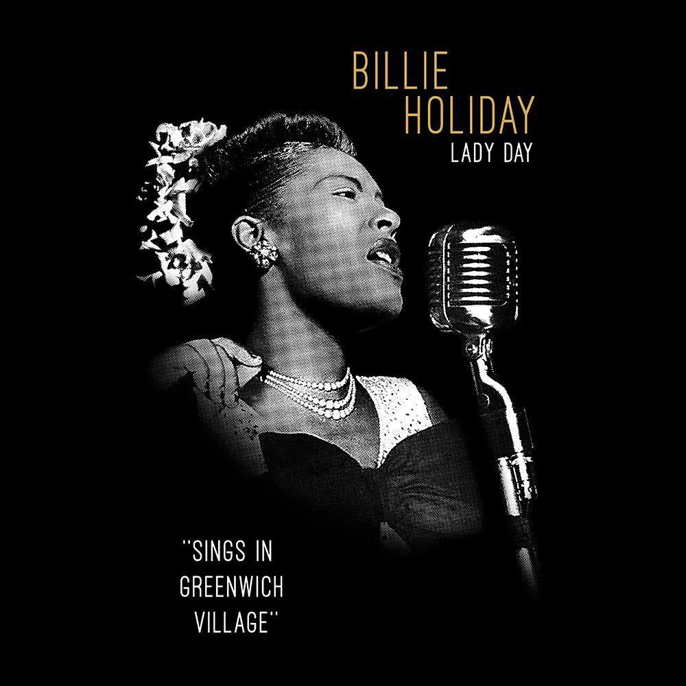 Camiseta Billie Holiday