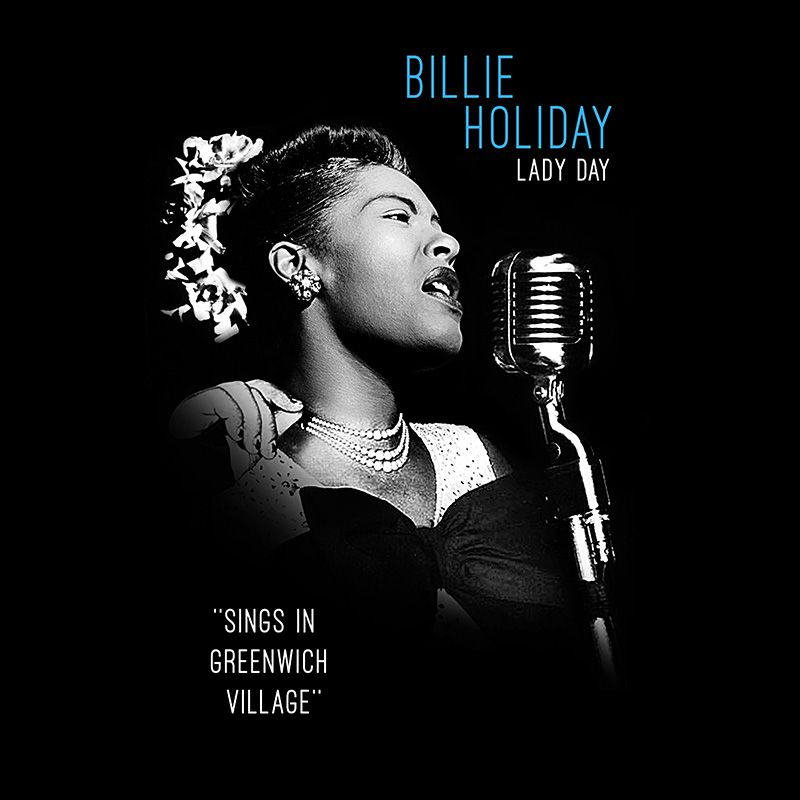 Camiseta Billie Holliday