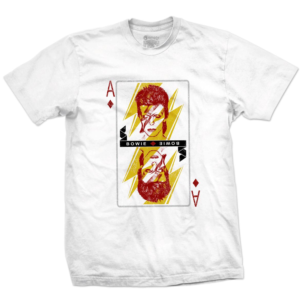 Camiseta Carta Bowie