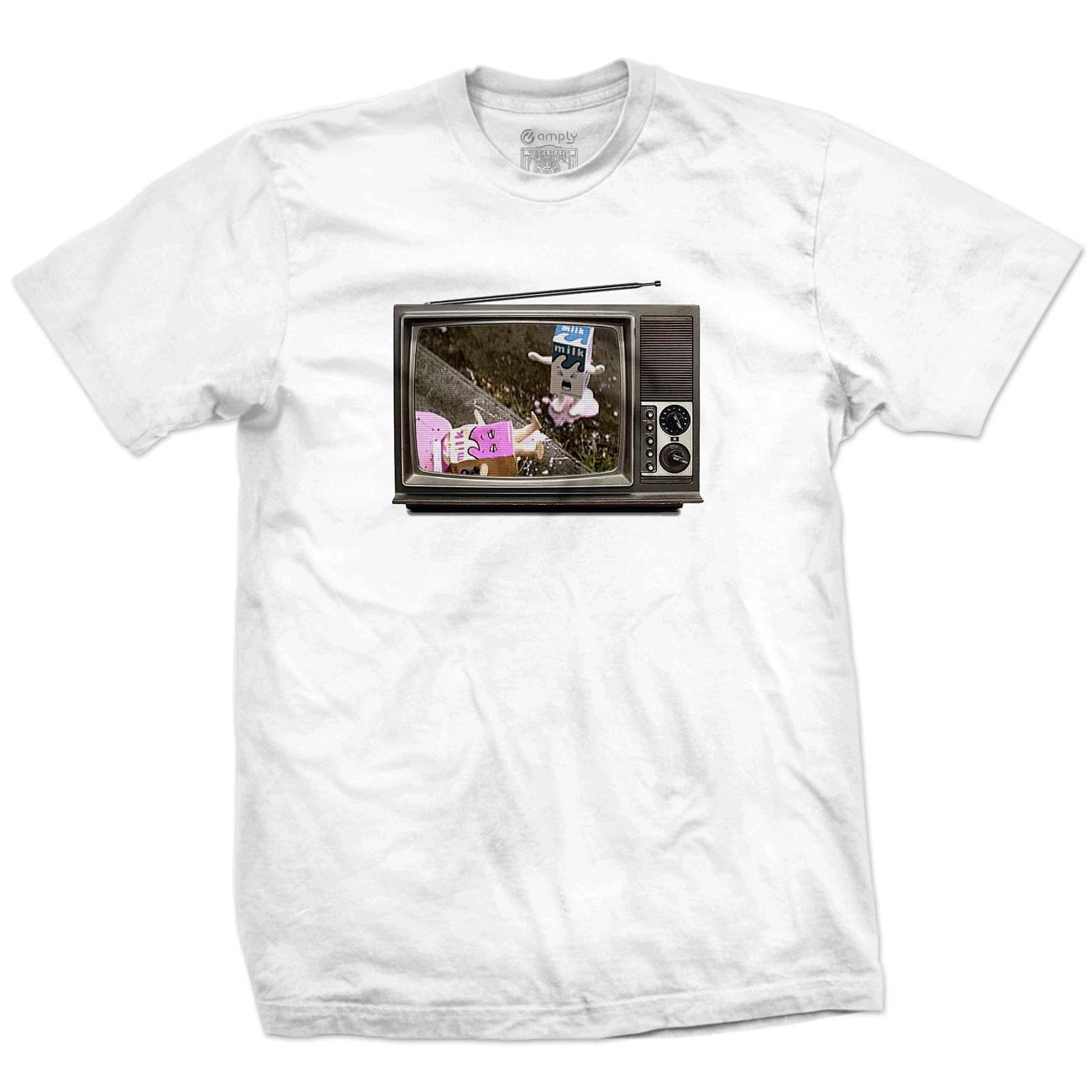 Camiseta Clipe Coffee and TV