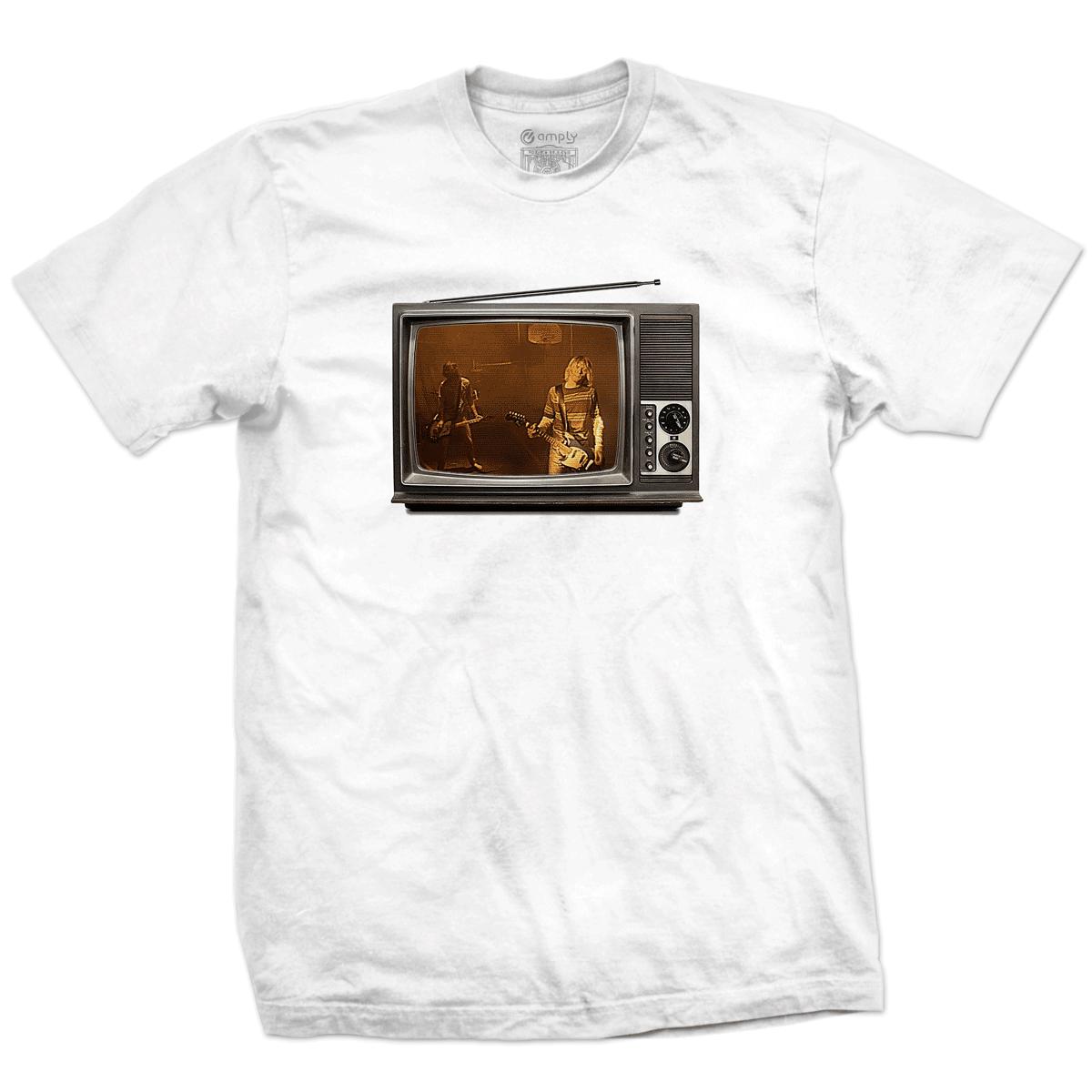 Camiseta Clipe Teen Spirit