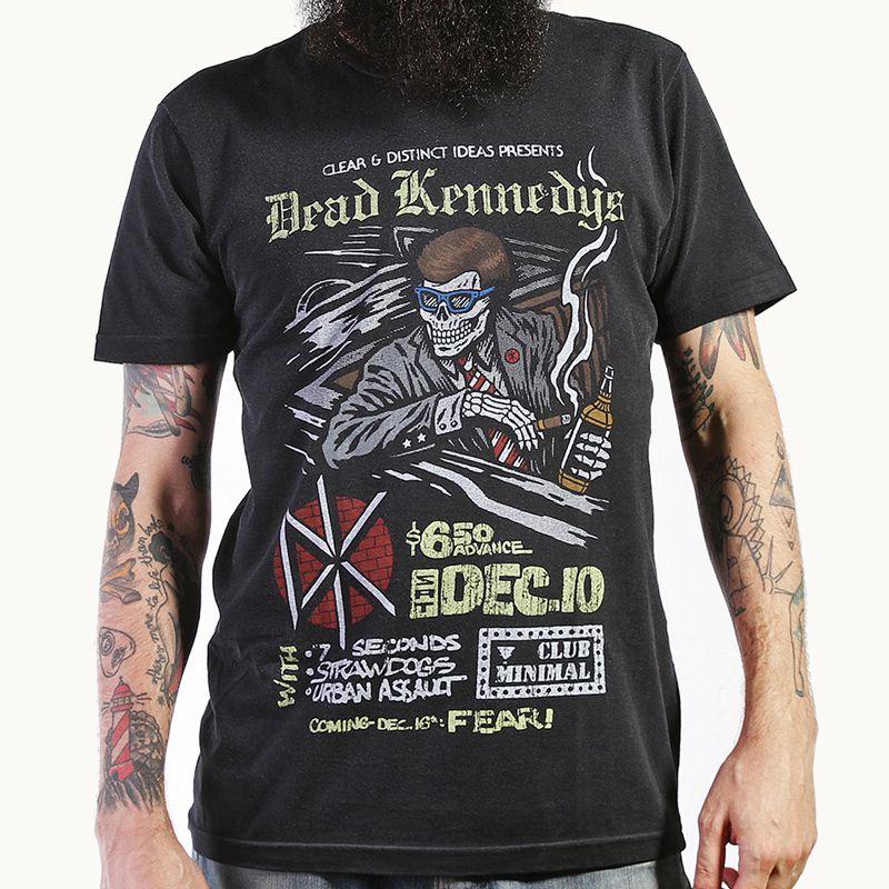 Camiseta Dead Kennedys