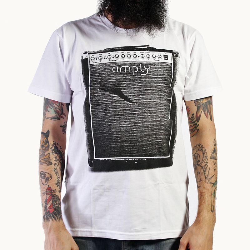 Camiseta Destroyed Branco