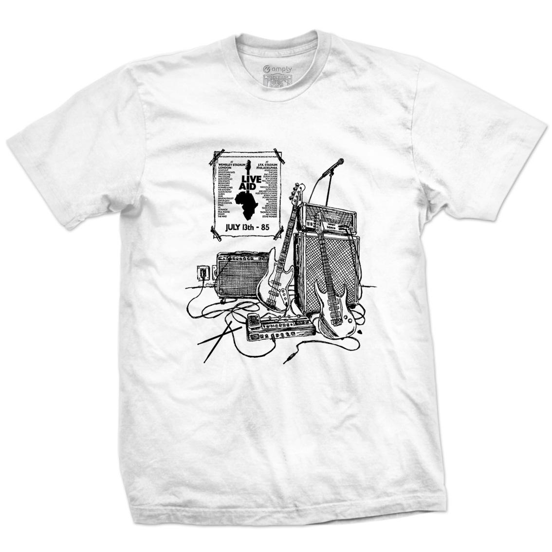 Camiseta Dia do Rock