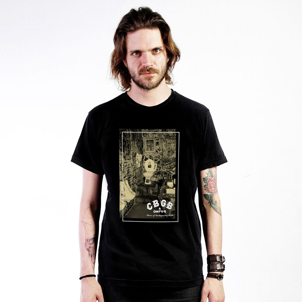 Camiseta Dirty CBGB