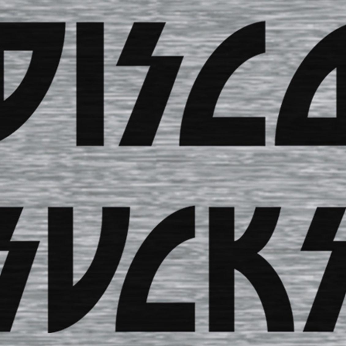 Camiseta Disco Sucks