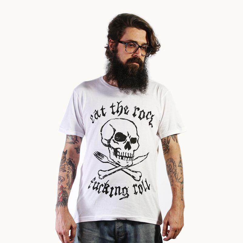 Camiseta Eat the Rock