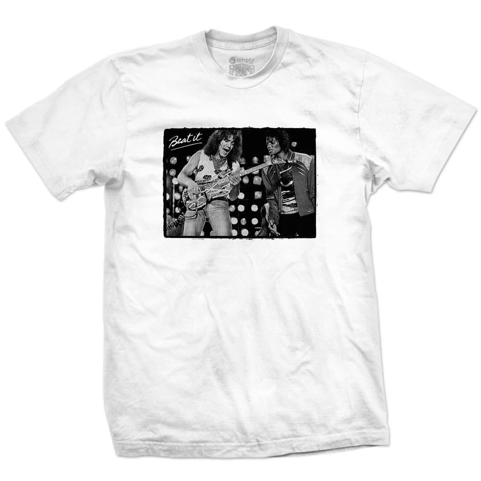 Camiseta Eddie Van Halen & Michael