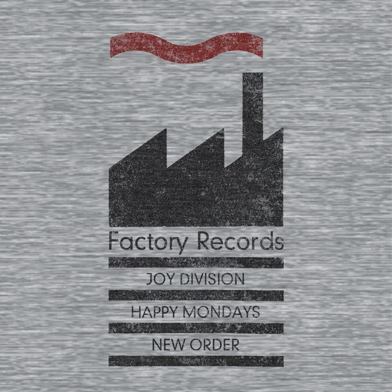 Camiseta Factory Records