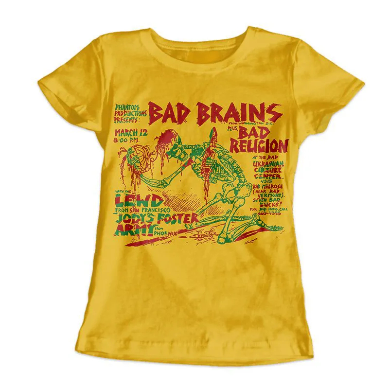 Camiseta Feminina Bad Brains
