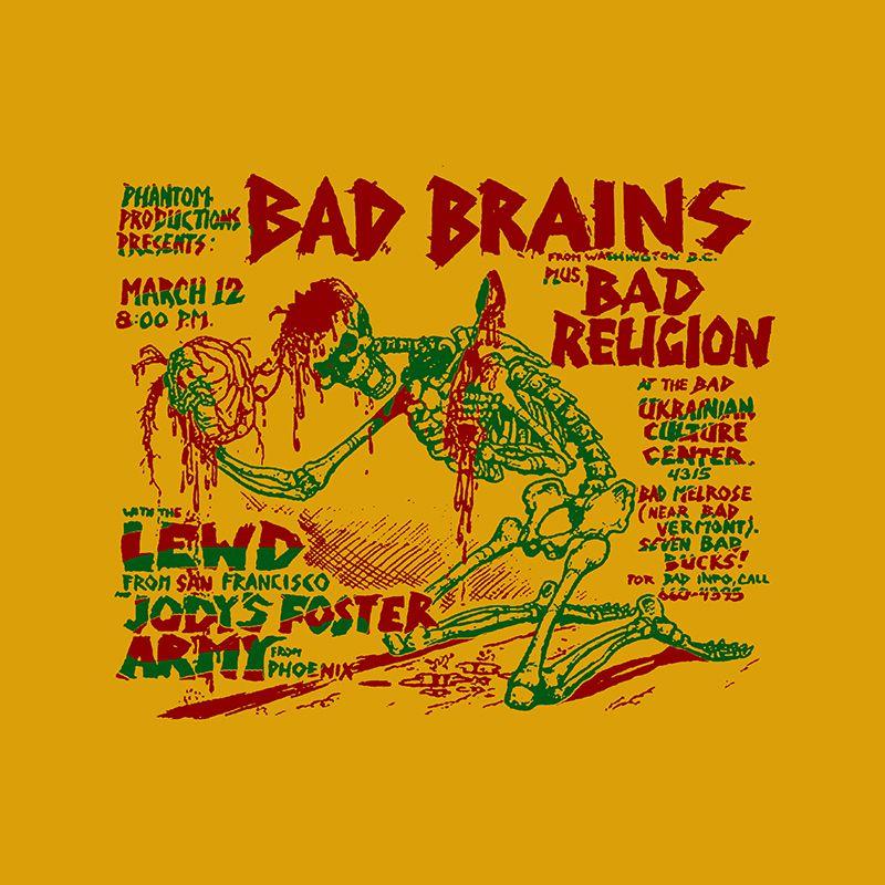 Camiseta Feminina Bad Brains