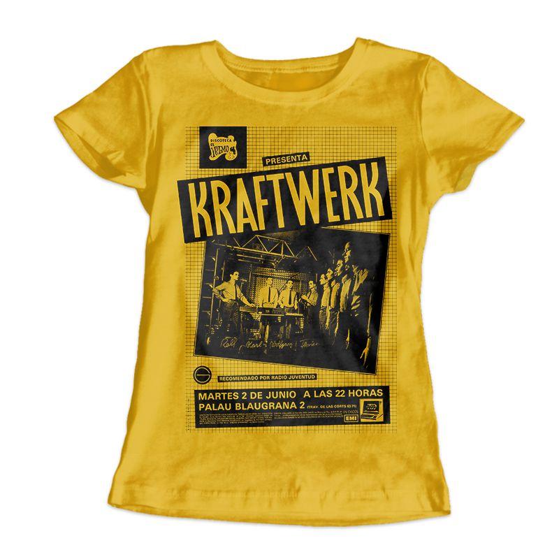 Camiseta Feminina Kraftwerk