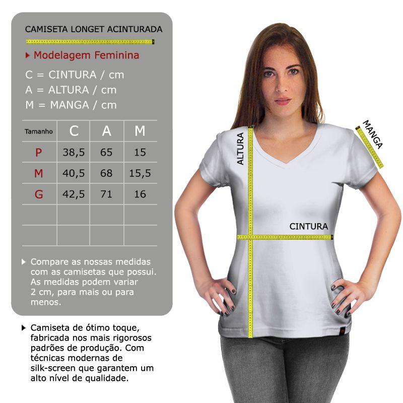 Camiseta Feminina Prisons Preto