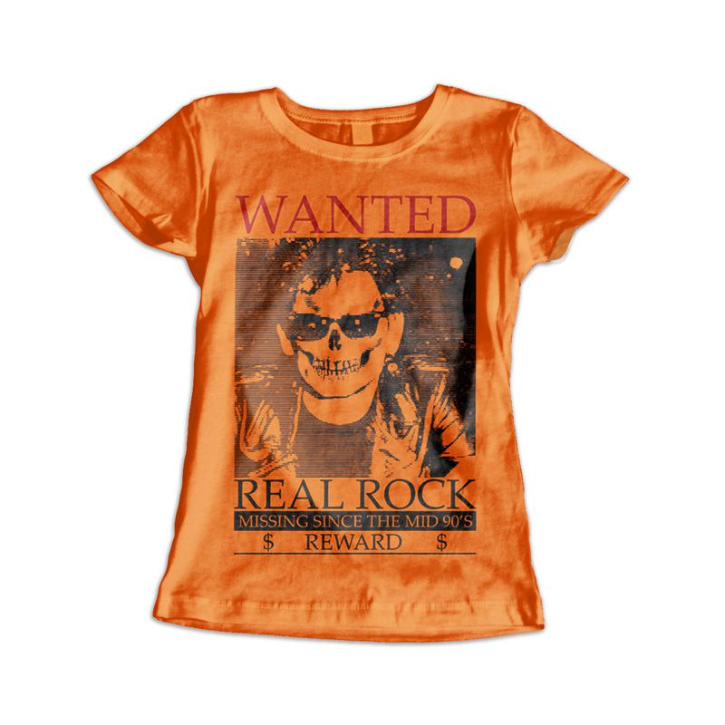 Camiseta Feminina The Wanted Laranja