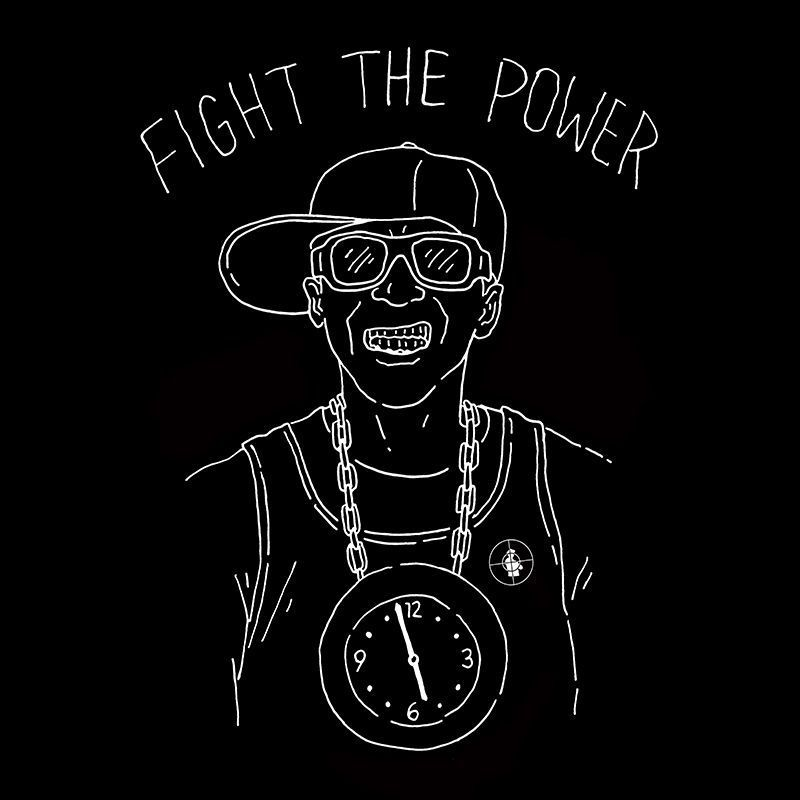 Camiseta Fight The Power