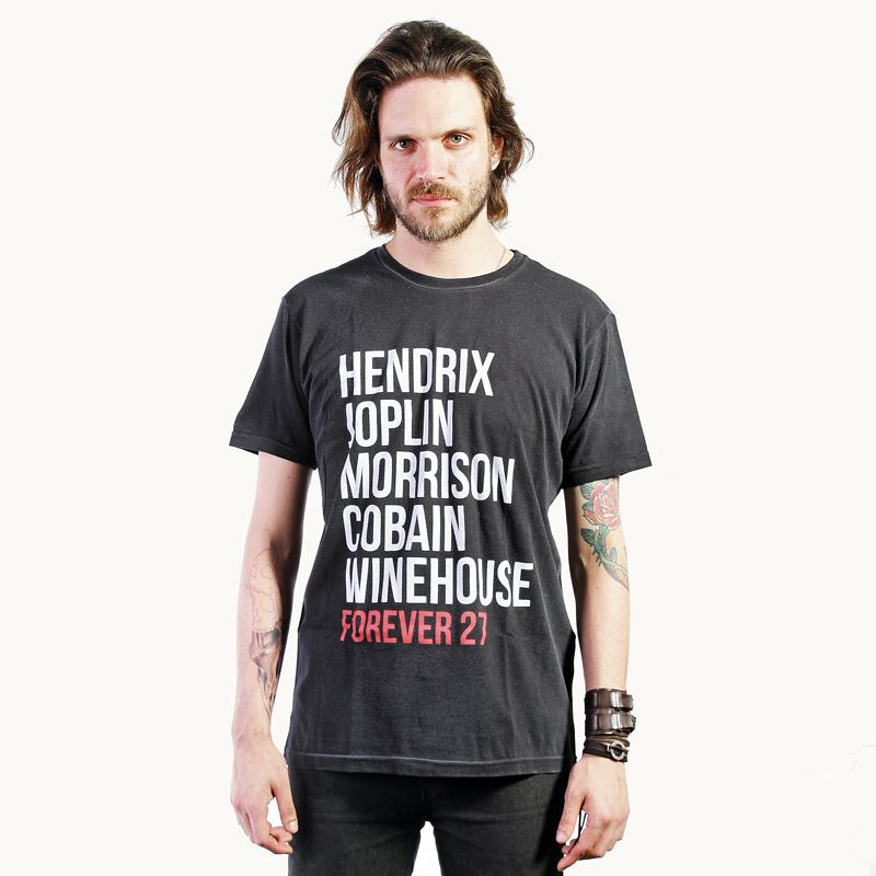Camiseta Forever 27 Preto